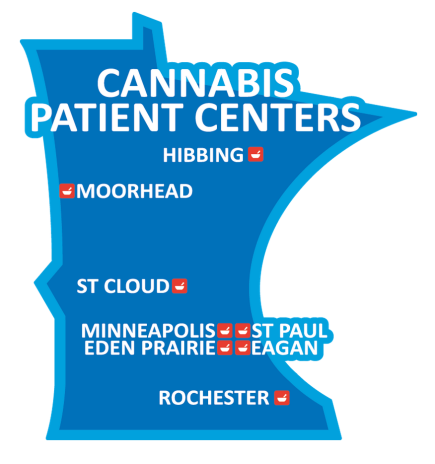 Minnesota department of health release this diagram of where future clinics are expected.