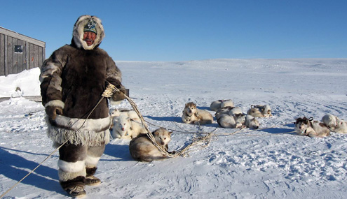 Inuit people still live off the land and sea, and are removed from regular medical services.