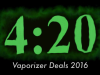 Best 4/20 Vaporizer Deals, Sales, and Promos for 2016