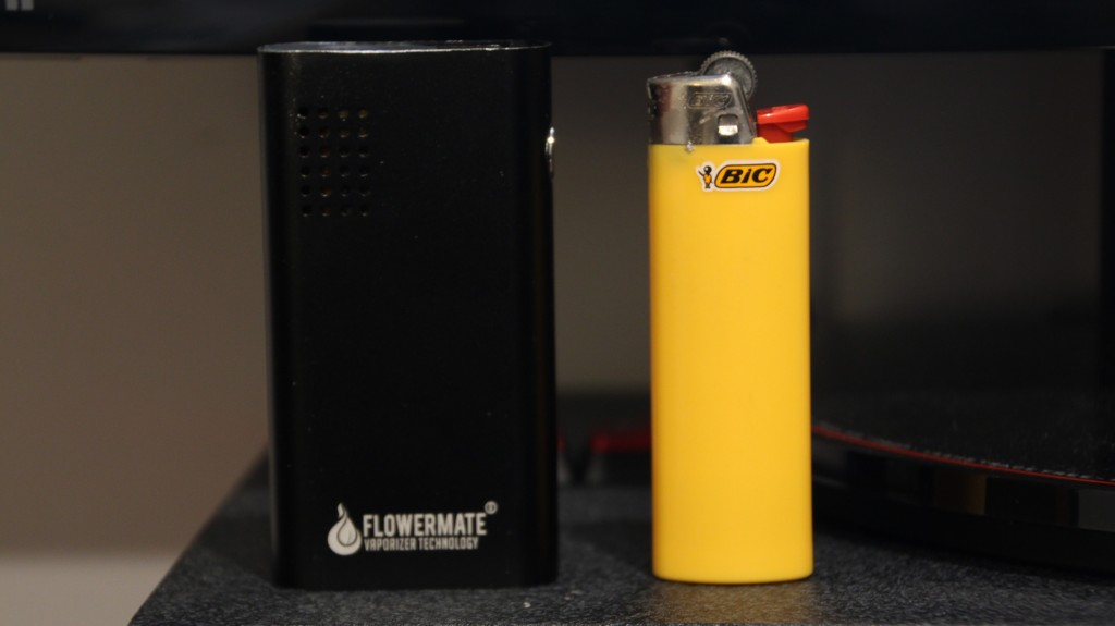 Flowermate Mini vs lighter