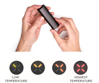 Pax 2 temp settings
