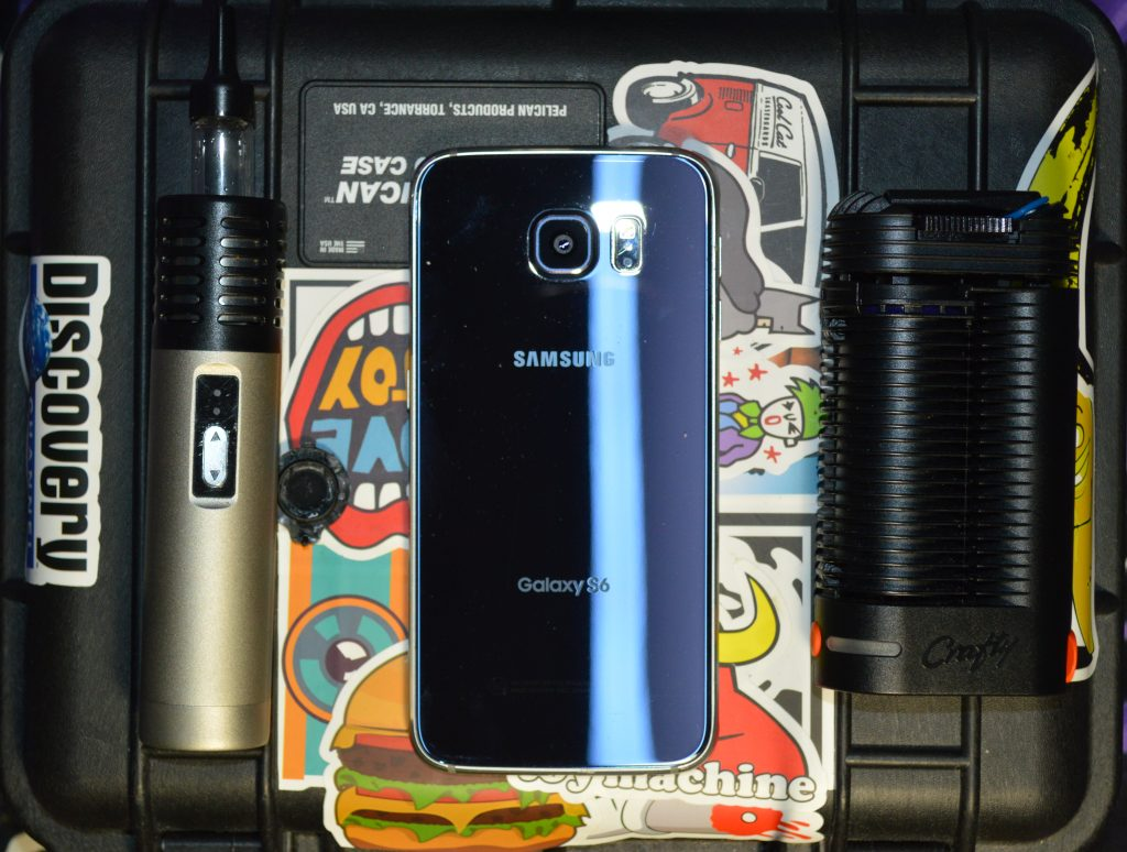 The Crafty and the Arizer Air Compared to a Samsung Galaxy S6