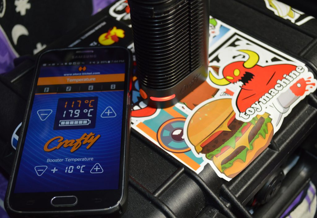 Crafty vaporizer and its Companion Smartphone Application