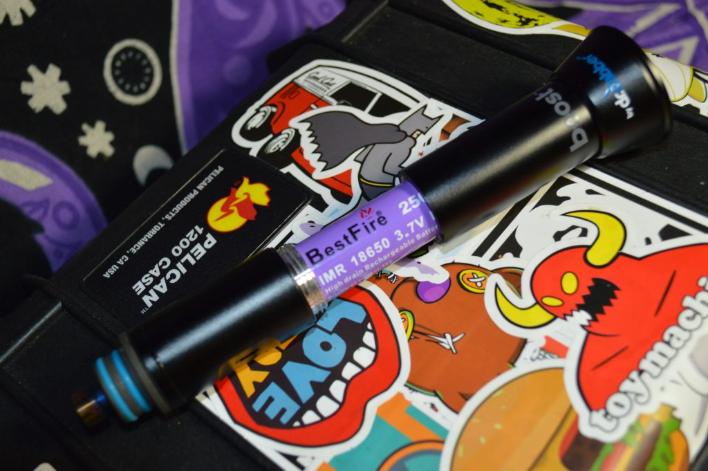 Boost eRig by Dr Dabber's Replaceable 18650 Batteries