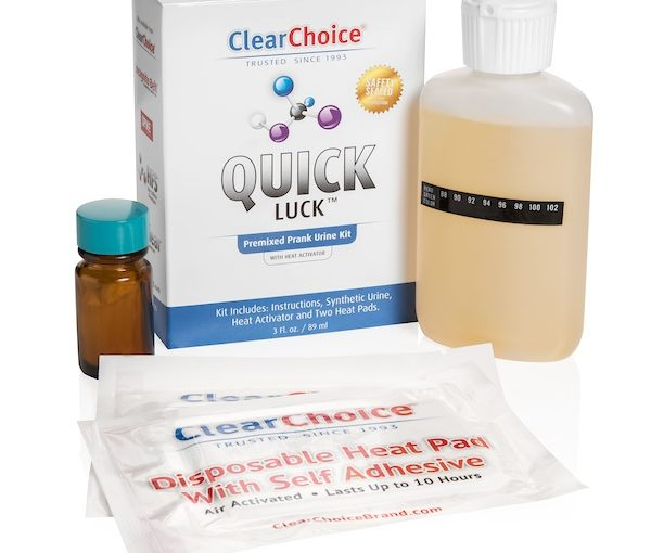 clear choice quick luck urine test